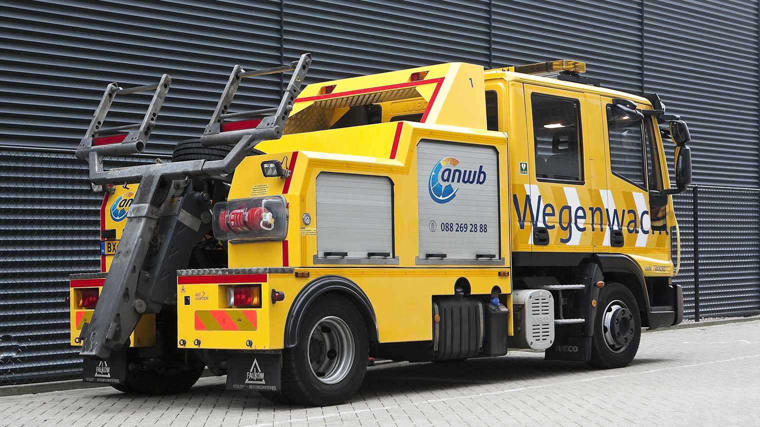 Wegenwacht lepelwagen