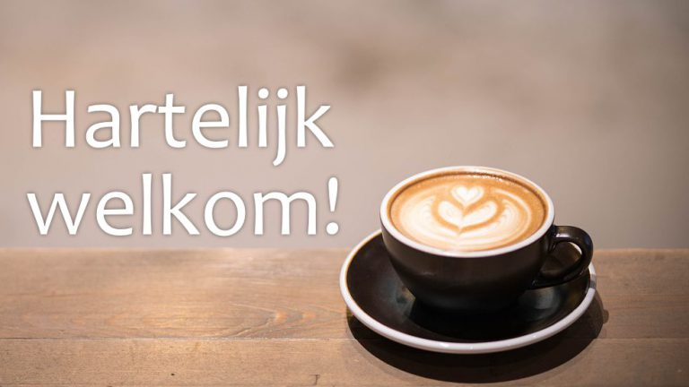 Welkom koffie